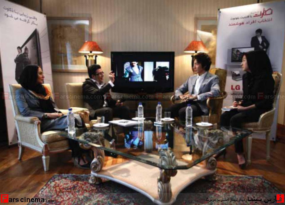 مصاحبه جنجالی مهناز افشار با جومونگ به همراه تصاویر