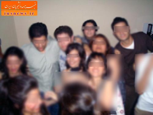 تصاویر پارتی مختلط دانشجویان دوره بیرمنگام دانشگاه امیرکبیر