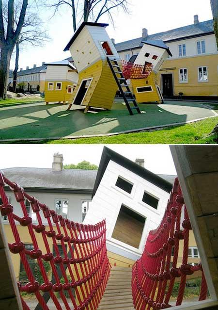شگفتانگیزترین پارکهای بازی کودکان  تصاویر
