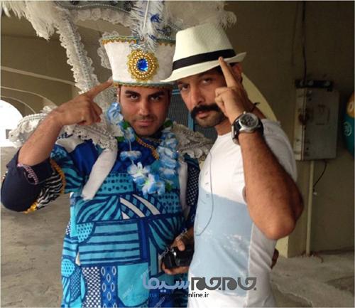 تصاویر منتشرنشده بازیگران از سفر به برزیل
