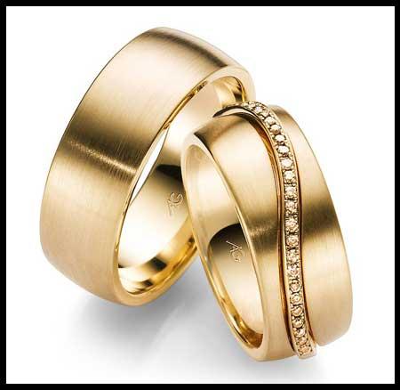 شیک ترین مدل حلقه ست نامزدی و ازدواج مارک دار تصاویر