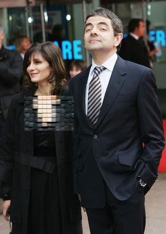 مستر بین و همسرش تصاویری از منزل شخصیاش