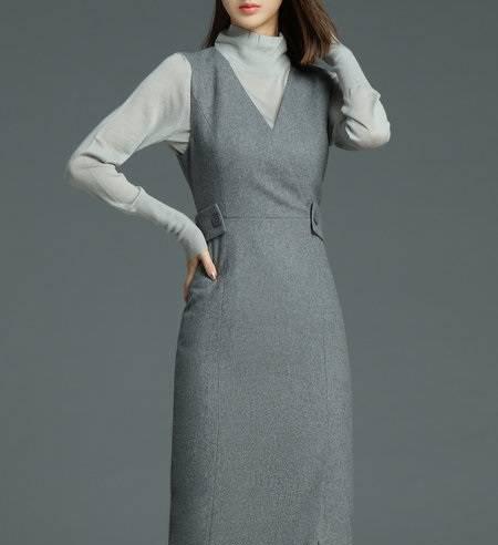 لباس زنانه پاییز و زمستانه بسیار شیک و زیبا برای روزهای سرد