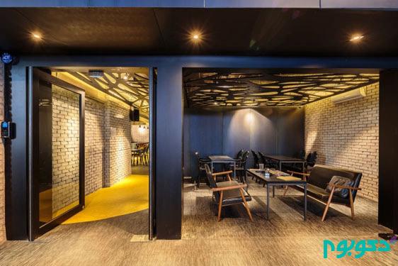 طراحی داخلی جالب یک مرکز فرهنگی دانشجویی در کره جنوبی