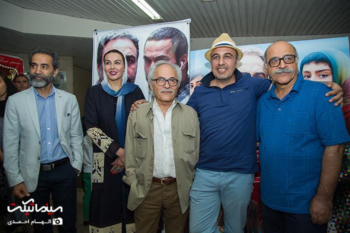 بازیگران و هنرمندان در مراسم اکران خصوصی فیلم آبنبات چوبی