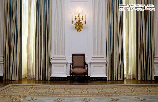 تغییر دکوراسیون اتاق غذاخوری کاخ سفید توسط میشل اوباما