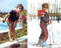 عکس: کودکی و نوجوانی محمد رضا گلزار