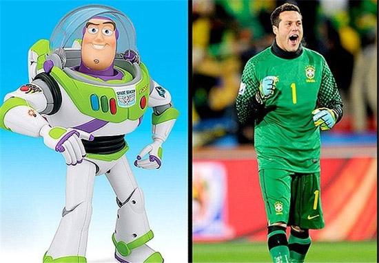 شباهت جالب ستارگان ورزش دنیا به شخصیتهای کارتونی