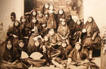 زنان قاجار بر چه اساسی برای حرمسرا انتخاب میشدند