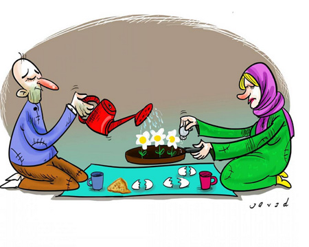 کاریکاتورهای بسیار زیبا و جالب از جواد طریقی اکبرپور