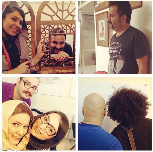 چهره های مشهور در شبکه های اجتماعی