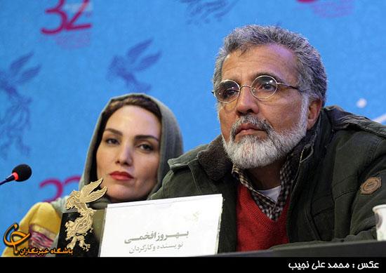 بهروز افخمی و همسرش در کاخ جشنواره