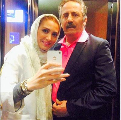 گفتگوی جالب با پدر و دختر مشهور سینما ، مجید مظفری و دخترش