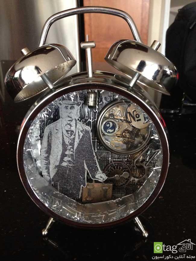 تزئین خانه با استفاده از ساعتهای کوکی از کار افتاده و قدیمی