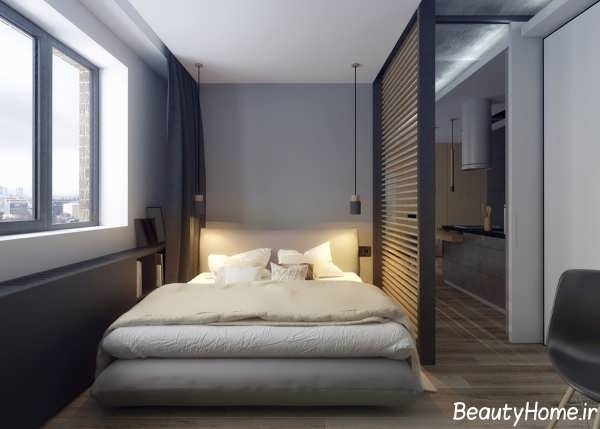 دکوراسیون خانه 50 متری کوچکی که بسیار تحسین برانگیز است