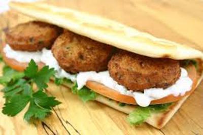 طرز تهیه ساندویچ فلافل عربی