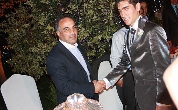 عکسهای دیدنی عروسی مجتبی جباری بازیکن تیم استقلال