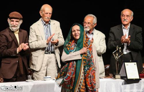 عکسهای مراسم یازدهمین جشن بازیگر تئاتر با حضور بازیگران مشهور