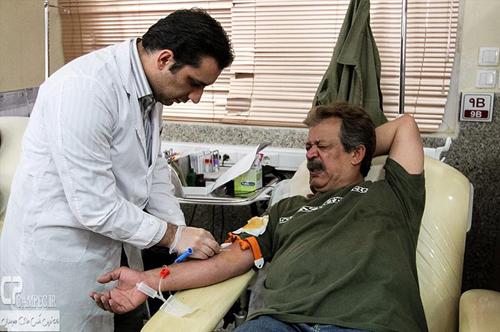 عکس های اهدای خون هنرمندان و بازیگران مشهور