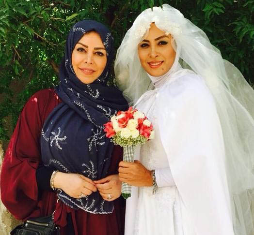 حدیثه تهرانی بالاخره از همسرش رونمایی کرد / عکس های حدیثه تهرانی و همسر خواننده اش !