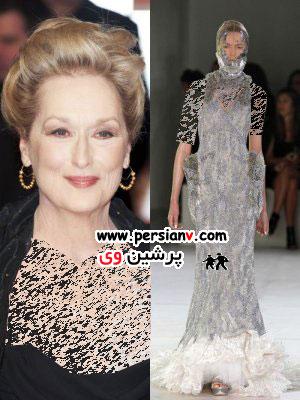 لباسهای پیشنهادی ما برای بازیگران زن هالیوود برای مراسم اسکار! عکس
