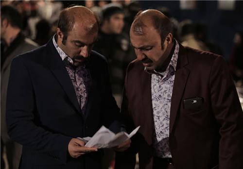جدیدترین عکسهای محسن تنابنده و رضا عطاران در فیلم گینس