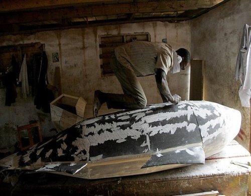 تابوت های شگفت انگیز و شکل دار در غنا