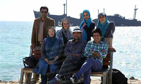 عکس های پشت صحنه مجموعه زمانه