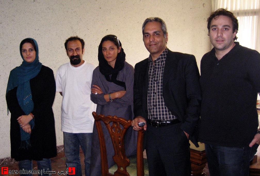 تصاویر یادگاری بازیگران سینما با حضور هدیه تهرانی