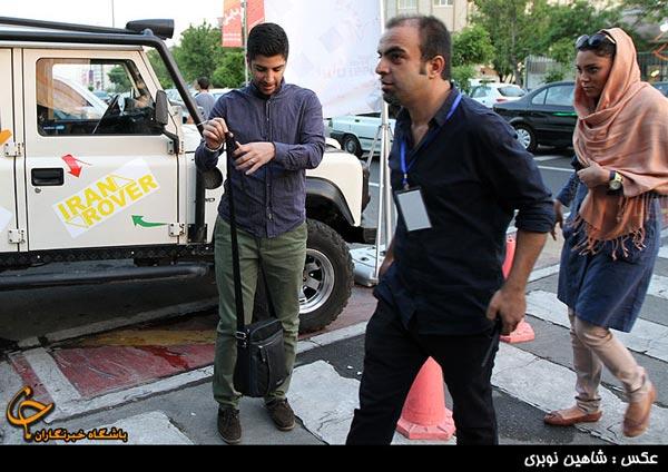 تصاویر بازیگران مشهور در مراسم اکران خصوصی رالی ایرانی