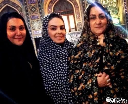 مریم امیرجلالی , سارا خویینی ها و لاله اسکندری در مشهد
