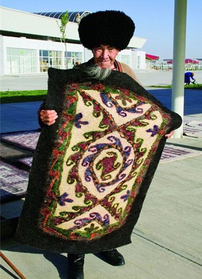 نمد ترکمنی