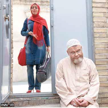 الناز شاکردوست در خانه اکبر عبدی ! عکس