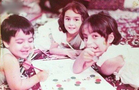 کودکی هانیه توسلی