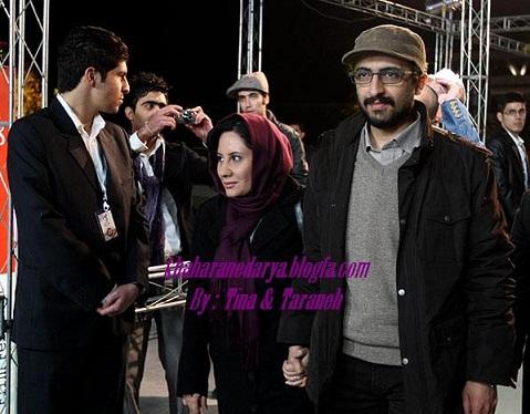 بهروز شعیبی کارگردان فیلم دهلیز و همسرش
