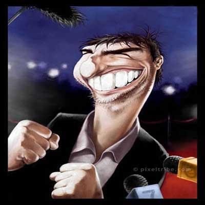 کاریکاتور های دیدنی و جالب ازبازیگران هالیوود