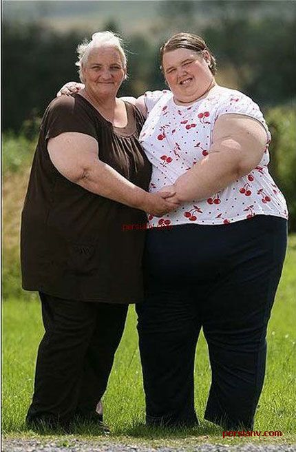 عکس : چاق ترین دختر جهان در 15 سالگی