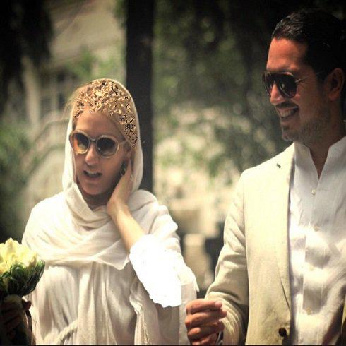 بالاخره مهناز افشار اولین عکس از همسرش را منتشر کرد !