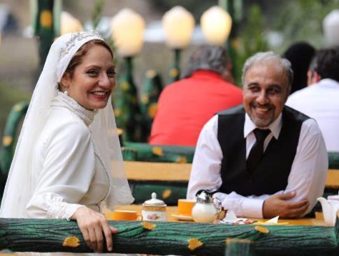عکس جدیدی از بدو بدو مهناز افشار در لباس عروس