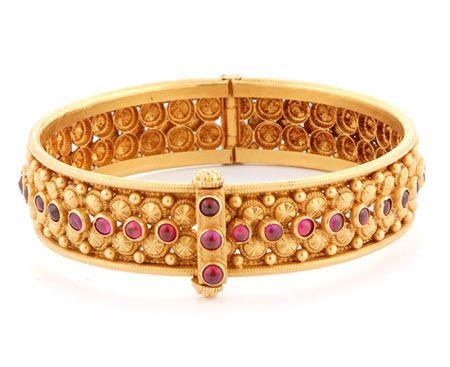 زیباترین ژورنال دستبند طلا و جواهر دخترانه و زنانه