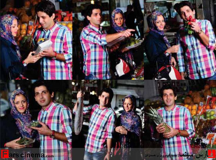 عکسهای جدید و دقایقی کوتاه با حمید گودرزی و همسرش