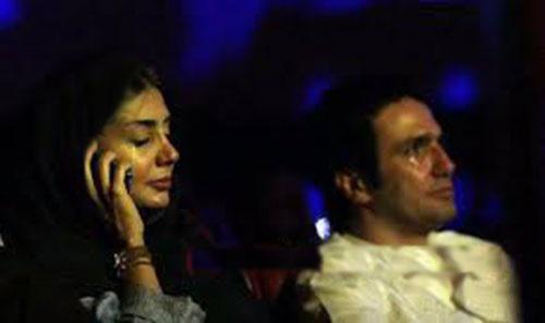 فروتن و همسرش در کنسرت مازیار فلاحی درحال گریه کردن