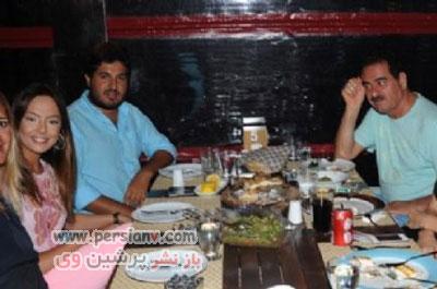 عکسهای جدید از ملاقات ابراهیم تاتلیس و ابرو گوندش با ضراب
