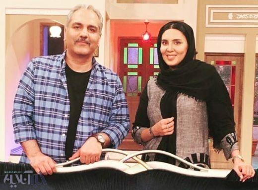 شوخی مهران مدیری با سن لیلا بلوکات در برنامه دورهمی