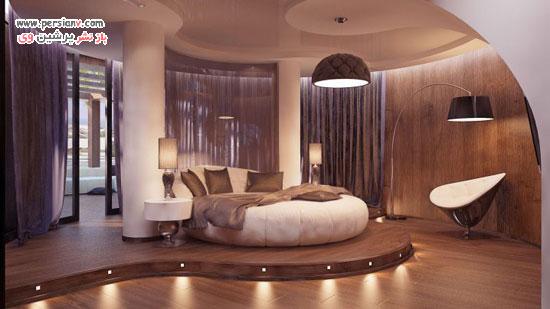اتاق خواب هایی که دکوراسیونش هوش از سرتان می پراند
