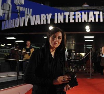 نیکی کریمی و مهتاب کرامتی در جشنواره ای در کشور چک