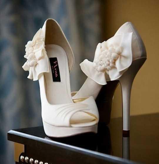 خاص ترین و متفاوت ترین کفش های عروس اروپایی