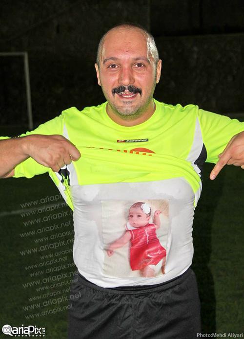 عکس های احسان علیخانی و کامبیز دیرباز در جام ستاره ها
