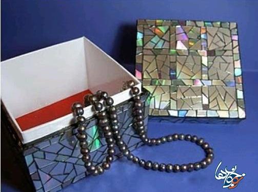 جعبه جواهرات کاردستی