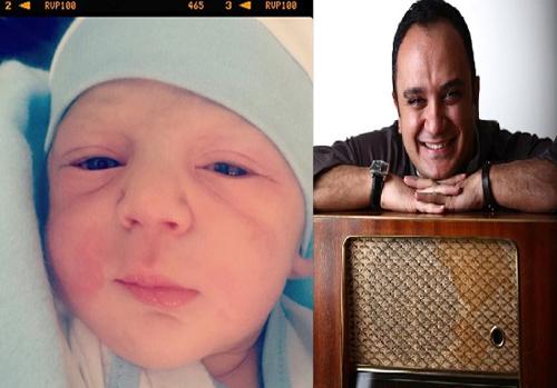 احسان کرمی، مجری سرشناس تلویزیون پدر شد